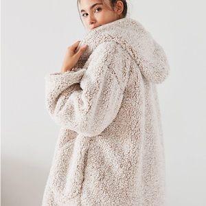 Urban Outfitters Jackets Coats Uo Shaila Oversized Fuzzy Jacket